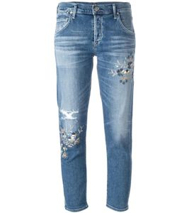 Citizens of Humanity | Distressed Skinny Jeans 29 Cotton/Spandex/Elastane