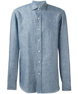 SALVATORE PICCOLO | Sport Shirt 40 Cotton/Linen/Flax