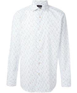 PAUL SMITH LONDON | Straw Print Shirt 17 Cotton