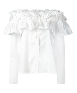 Opening Ceremony | Layered Ruffle Top 0 Cotton/Spandex/Elastane