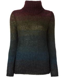 Roberto Collina | Striped Jumper Small Mohair/Nylon/Wool