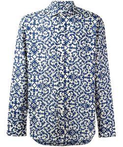 SALVATORE PICCOLO | Printed Sport Shirt 43 Cotton