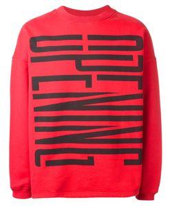 Opening Ceremony | Logo Print Sweatshirt Adult Unisex Large Cotton