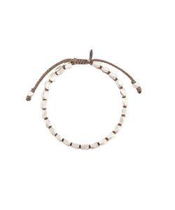 M. COHEN | Beads On Cord Bracelet