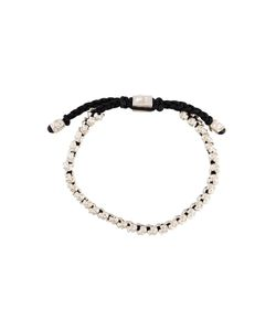 M. COHEN | Woven Double Mini Skull Bracelet