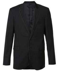Lanvin | Chain Ribbon Trim Jacket 50 Cupro/Wool/Mohair