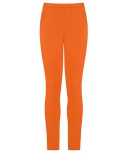 ANDREA MARQUES | Slim Fit Trousers 38 Spandex/Elastane/Cotton