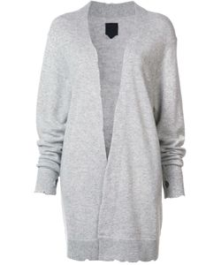 RTA | Distressed Long Cardigan Small Cashmere