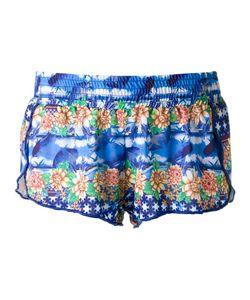 BLUE MAN | Printed Shorts G Lyocell