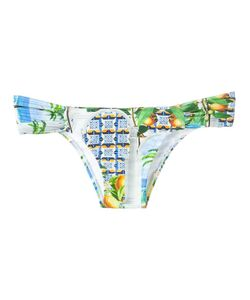 BLUE MAN   Printed Bikini Bottom Gg Lyocell