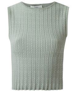 EGREY | Knit Cropped Top Medium Viscose