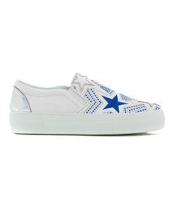 Simon Scott | Star Print Slip On Sneakers 40