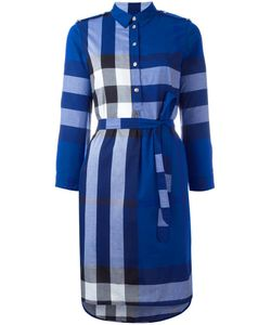Burberry | House Check Shirt Dress 8 Cotton