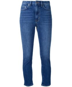 SCANLAN THEODORE | High Waist Cropped Jeans 28 Cotton