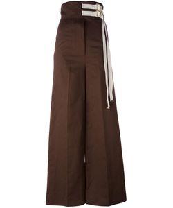 Marni | Wide Leg Trousers 42 Cotton/Linen/Flax