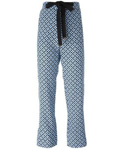 Marni | Tracery Print Trousers 38 Silk