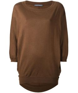 Alberta Ferretti | Loose Fit Knit Jumper 38 Virgin