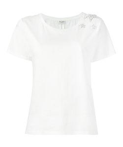 Saint Laurent | Crystal Stars T-Shirt Medium Cotton/Polyester/Glass
