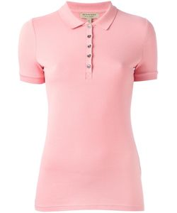 Burberry | Snap Fastening Polo Shirt Xs Cotton/Spandex/Elastane