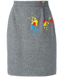Olympia Le-Tan | Paola Gabbiano Skirt 36 Polyester/Acrylic/Spandex/Elastane/Acetate
