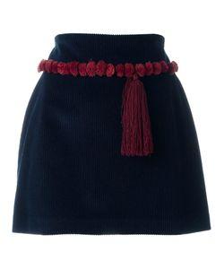 Au Jour Le Jour | Tassel Detail Mini Skirt 42