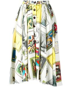 Olympia Le-Tan | Frida Collector Skirt 36 Viscose/Spandex/Elastane