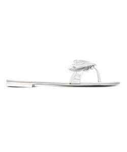 Giuseppe Zanotti Design | Cruel Sandals 36.5 Patent Leather/Metal