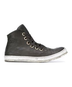 A DICIANNOVEVENTITRE | Lace-Up Hi-Tops 43 Leather/Rubber