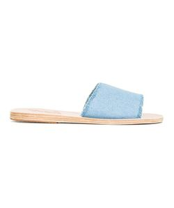 ANCIENT GREEK SANDALS   Taygete Sandals 41 Leather/Cotton/Rubber