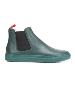 DEL TORO SHOES | Flat Chelsea Boots 11 Rubber/Leather