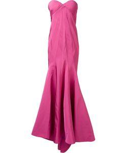 Zac Posen | Radal Seam Gown 4 Silk