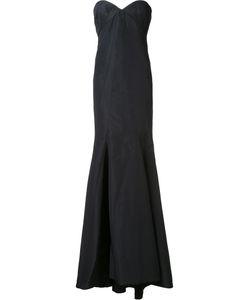 Zac Posen | Radal Seam Gown 8 Silk