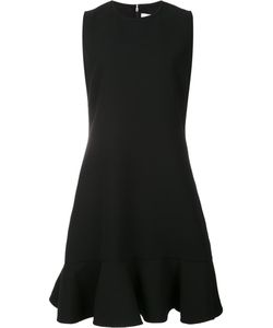 Victoria, Victoria Beckham | Victoria Victoria Beckham Peplum Hem Dress 10 Silk/Polyester