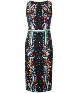 Peter Pilotto | Printed Kia Dress 10 Viscose/Spandex/Elastane/Acetate/Polyester