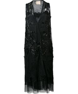 LOYD/FORD | Embellished Sheer Dress 4 Silk