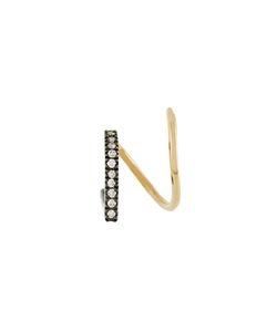 MARIA BLACK | Bela Noir Twirl Diamond Earring