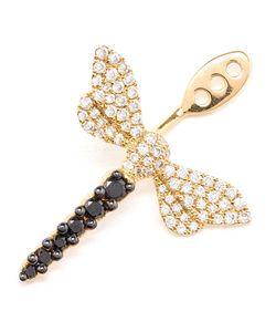YVONNE LEON | Yvonne Léon Diamond Dragonfly Lobe Earring