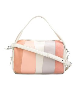 Derek Lam 10 Crosby | Striped Gym Bag