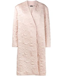Alexander McQueen | Butterfly Embroidered Cocoon Coat 48 Silk/Polyester