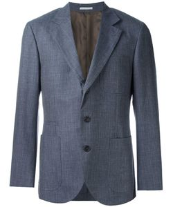 Brunello Cucinelli | Patch Pocket Blazer 58 Cupro/Wool/Silk/Linen/Flax