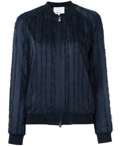 3.1 Phillip Lim | Fringed Satin Bomber Jacket 2