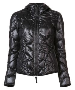 KRU | Quilted Zipped Jacket Small Polyester/Feather Down