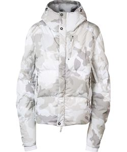 KRU | Camouflage Hooded Jacket Xl Polyester/Feather Down