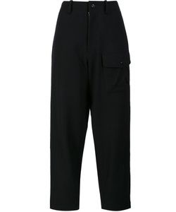 Y'S | Out Pocket Trousers 1 Cupro/Wool/Nylon
