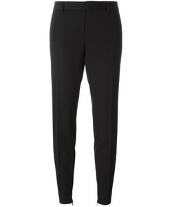 Saint Laurent | Tapered Tailored Trousers 40 Cotton/Virgin Wool
