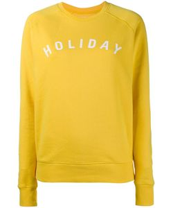 Holiday | Print Sweatshirt Medium Cotton