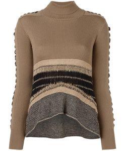 MAME | Laced Sleeve Jumper 3 Wool/Nylon
