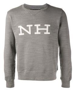 Neighborhood | Logo Appliqué Sweatshirt Medium Cotton