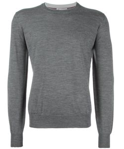 Brunello Cucinelli | Crew Neck Jumper 52 Cashmere/Virgin Wool