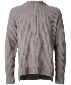 Monkey Time | Cable Knit Jumper Large Wool